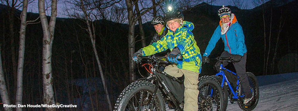 Fat Biking at Great Glen Trails
