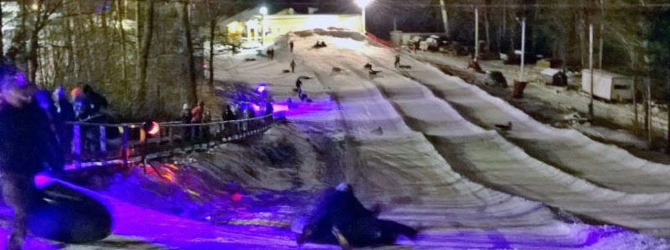 Cosmic Snow Tubing at Granite Gorge